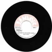 John Steele - Selassie On His White Horse / Dub (Jammy's) 7""